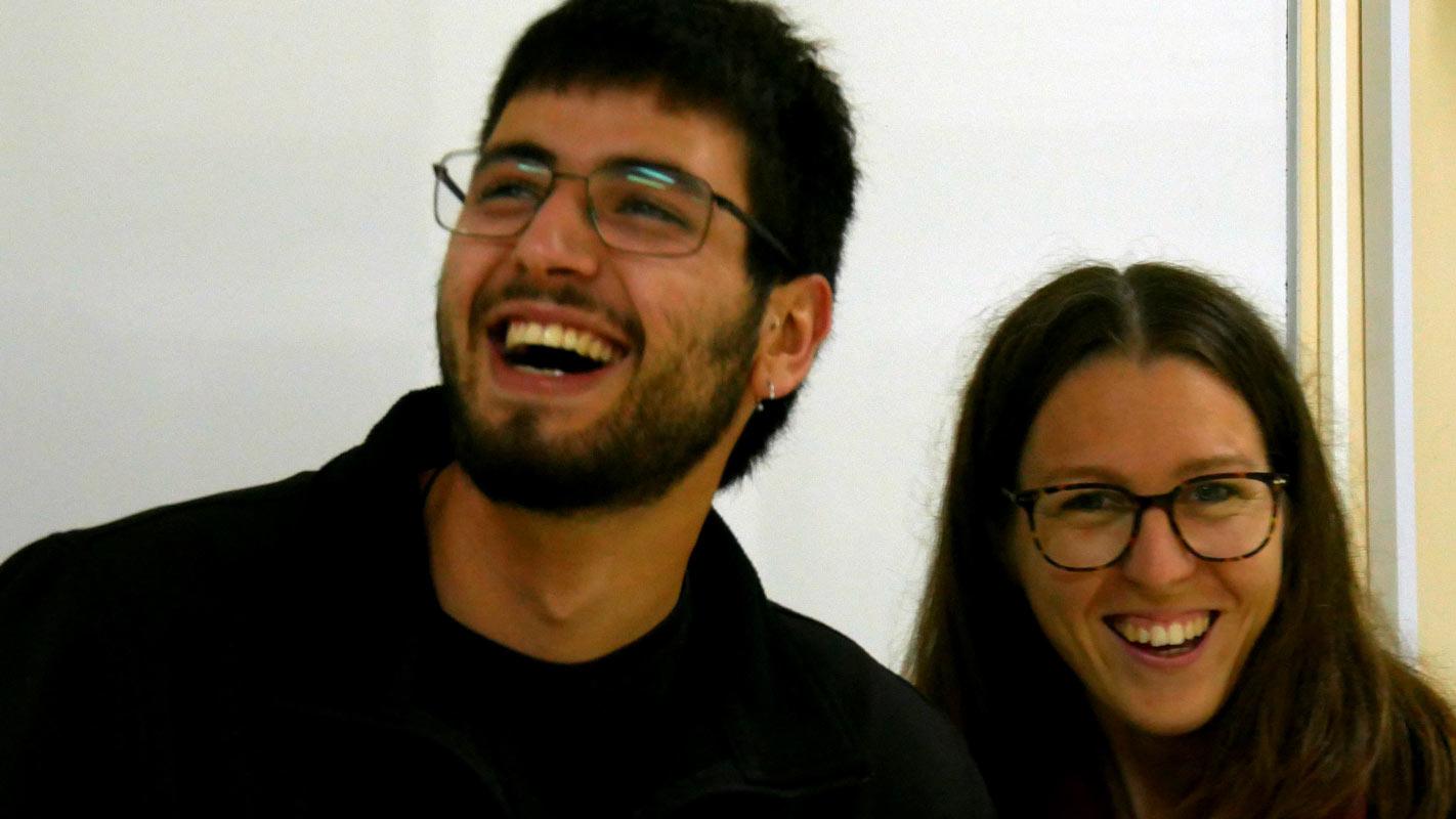 Daniel Ausens y María Matas